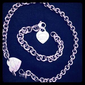 Tiffany & Co Choker and Bracelet Bundle